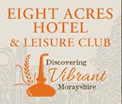 Eight Acres Hotel & Leisure Club in Elgin, Morayshire logo