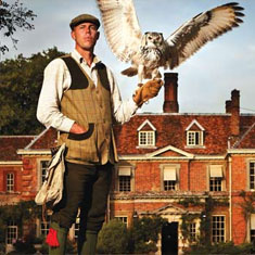 lainston house - falconry