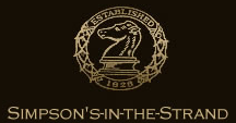 Simpson's-in-the-Strand logo